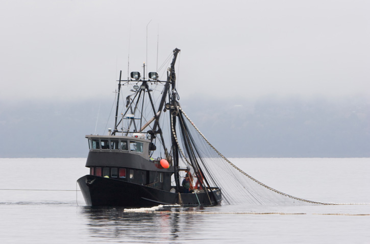 Lummi nation our environmental challenge for Commercial fishing boats