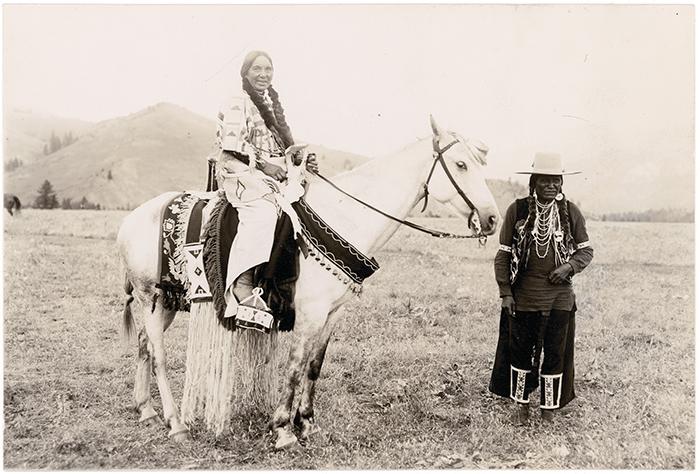 American Indian Chiefs On Horseback