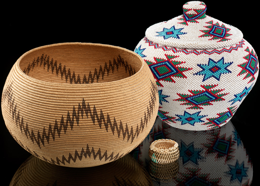 Baskets infinity of nations art and history in the for Indian arts and crafts