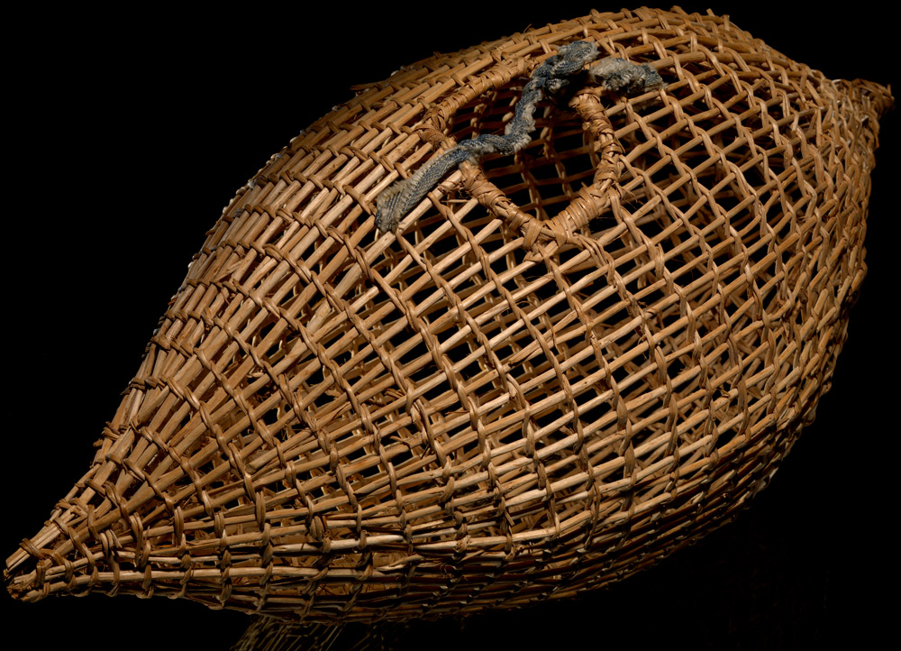 walker river northern paiute fish trap   infinity of nations art and history in the collections