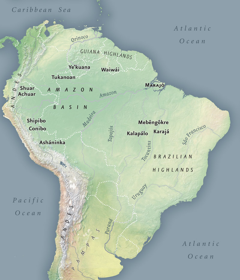 Amazon infinity of nations art and history in the collections map of the amazon gumiabroncs Images