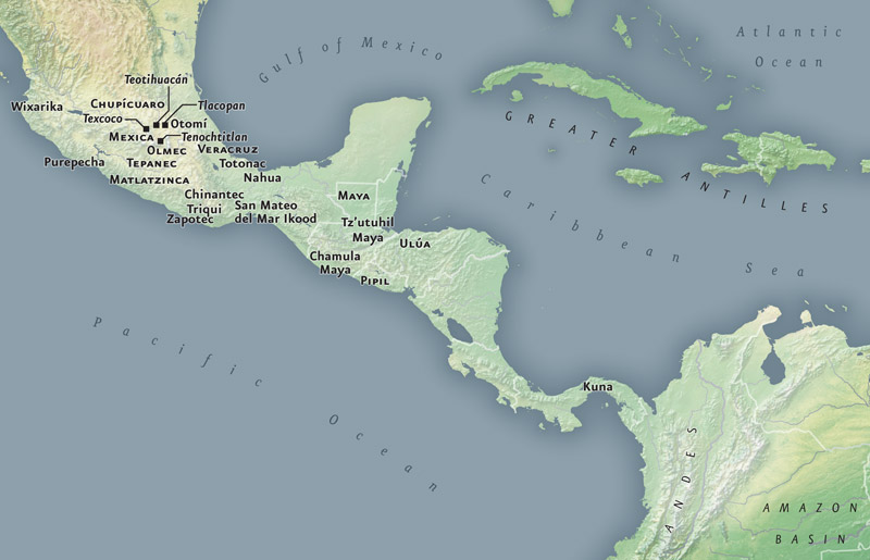 Mesoamerica Caribbean Infinity Of Nations Art And History In The