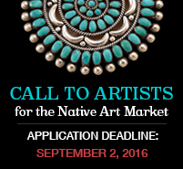 Call to Artists for Native Art Market 2016 homepage tile