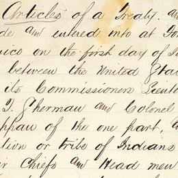 Navajo Treaty, 1868   Nation to Nation