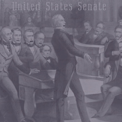 illustration of Congress signing legislation