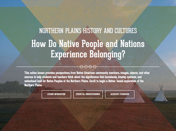 Northern Plains History and Cultures: How Do Native People and Nations Experience Belonging? image