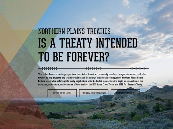 Northern Plains Treaties: Is a Treaty Intended to Be Forever? image