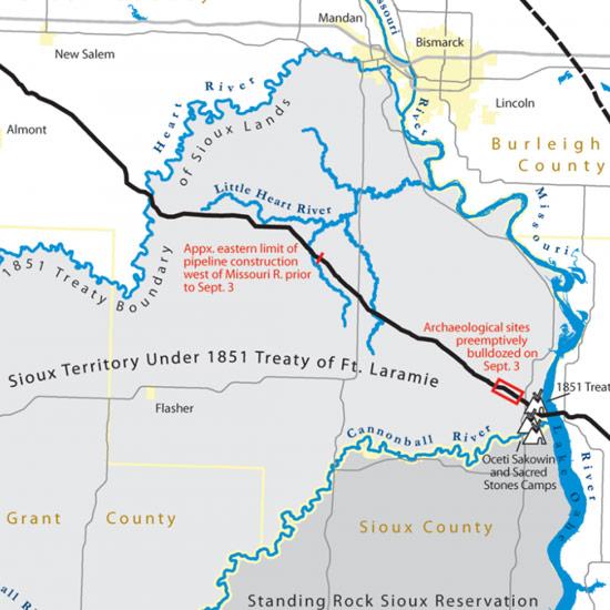 Standing Rock Sioux and Dakota Access Pipeline   Teacher