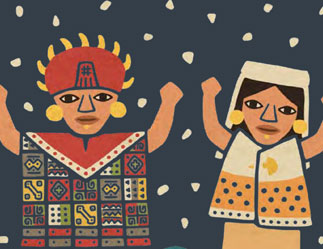 detail of inka illustration