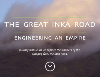 inka road in the clouds