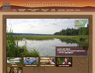 American Indian Responses to Environmental Challenges: Akwesasne Mohawk image