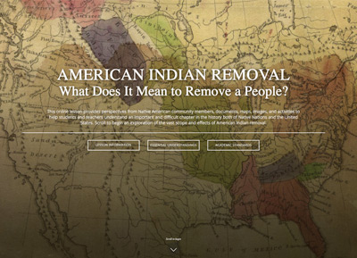 American Indian Removal: What Does It Mean to Remove a People? Digital Lesson image