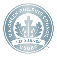 LEED Silver rating