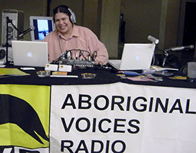 Chris Spence from Aboriginal Voices Radio