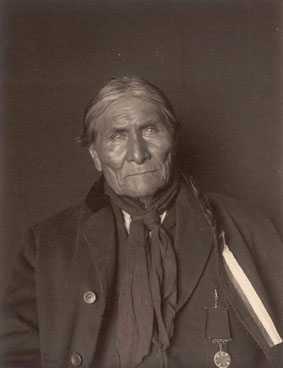 Portrait of Geronimo
