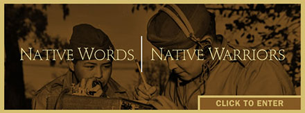 Native Words, Native Warriors website