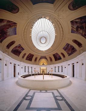The rotunda of the custom house