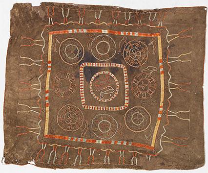Odawa or Ojibwa mat