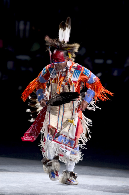 Northern Traditional Dancer, Terry Fiddler