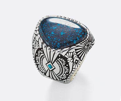 Turquoise Mountain Rings