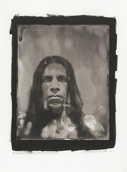 Nicholas Galanin, Citizen of the Tlingit Nation, Trans-Customary Artist, CIPX NDN MRKT