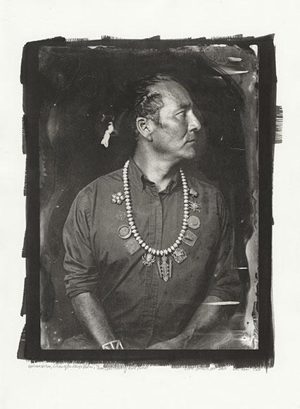 William Wilson, Citizen of the Navajo Nation, Trans-Customary Diné Artist, CIPX NDN MRKT