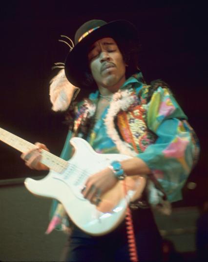 Jimi Hendrix at The Royal Albert Hall
