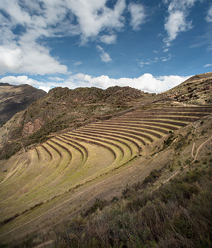 Inka agricultural terraces
