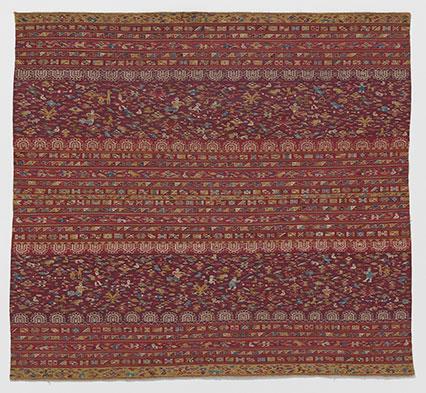 Colonial Inka woman's manta (shawl)