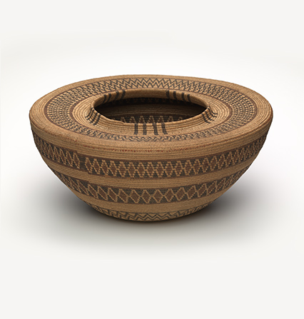 Maidu basket jar