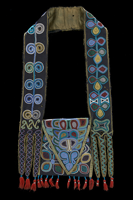 Muscogee (Creek) bandolier bag