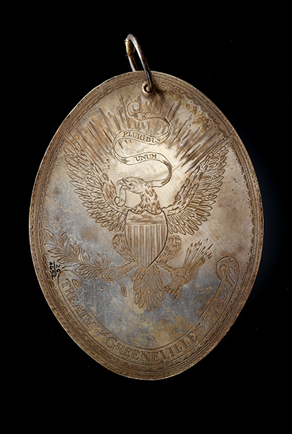 Treaty of Greenville peace medal