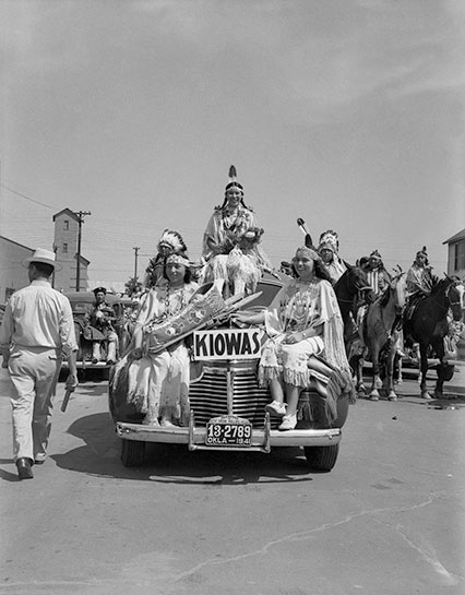 The American Indian Exposition parade
