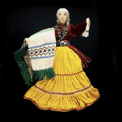 Female doll by Kay Bennett