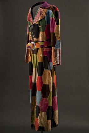 Jimi Hendrix's patchwork leather coat
