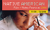 2006 Native American Film + Video Festival postcard