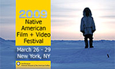 2009 Native American Film + Video Festival postcard