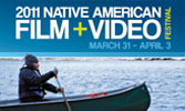 2011 Native American Film + Video Festival postcard