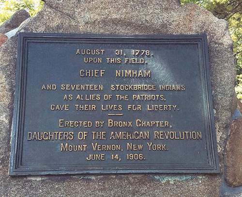 The Road to Kingsbridge: Daniel Nimham and the Stockbridge Indian Company in the American Revolution