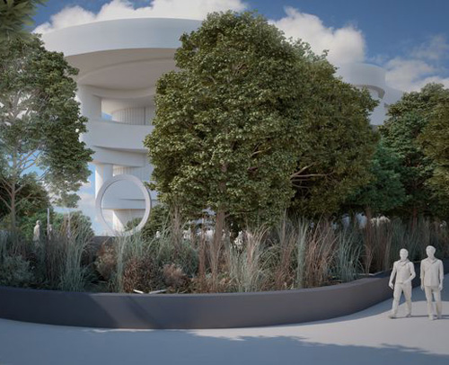 New Drawings Show the National Native American Veterans Memorial Taking Its Place on the National Mall