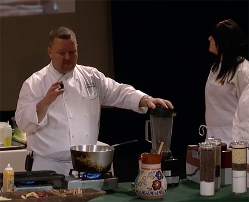 Power of Chocolate: Food Demonstration and Discussion