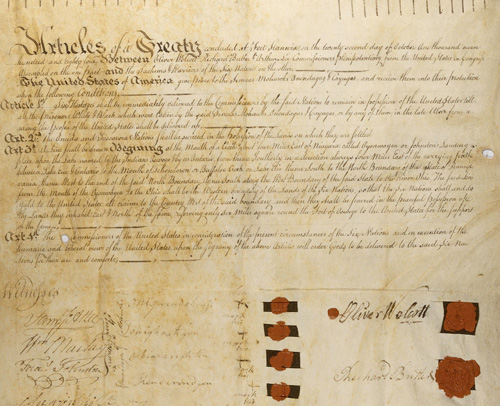 Nation to Nation Treaties and Transcripts