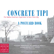 Concrete Tipi Postcards cover
